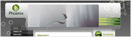 Phoenix Commercial Brochure Website Design