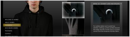 Akimbo Clothing - E-Commerce Flash Website Design